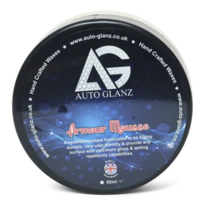AutoGlanz Armour Mousse is een synthetische sealant
